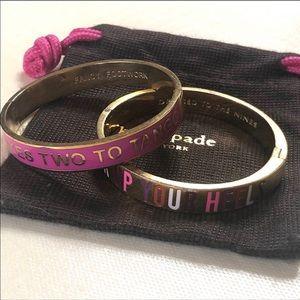Kate Spade ♠️Bangle Bracelets
